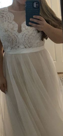 Size 14 Wedding Dress for Sale in Melrose,  FL