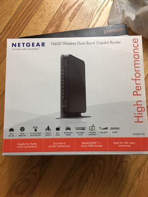 Netgear N600 wireless dual band gigabit router for Sale in Springfield, VA