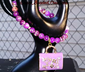 Purple Jasper LV bracelet for Sale in Inglewood, CA