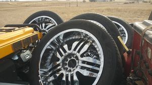 22 inch rims for Sale in Peyton, CO