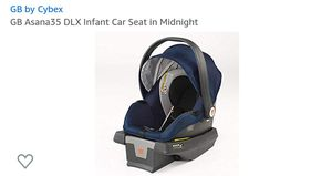GB Asana 35 DLX Infant Car Seat for Sale in West Hempstead, NY