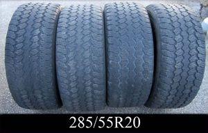 FULL SET 285/55R20 Goodyear Wrangler Tires for Sale in West Warwick, RI