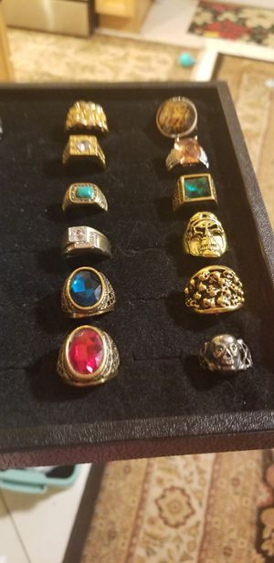 COSTUME RINGS LOT for Sale in Fairfax, VA