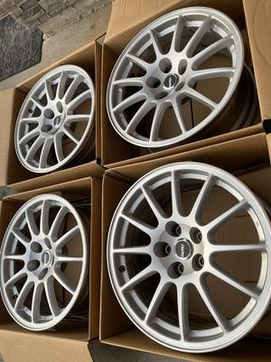 5x114.3 enkei wheels (price is for today only) for Sale in San Bernardino, CA