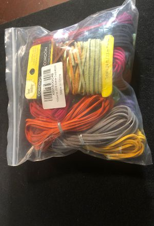 Suede and Leather Lace Cord for Sale in Cary, NC