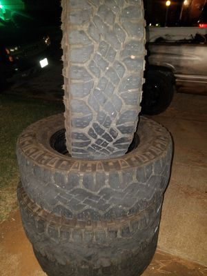 4 Goodyear wrangler All Terrain tires for Sale in Fort Worth, TX