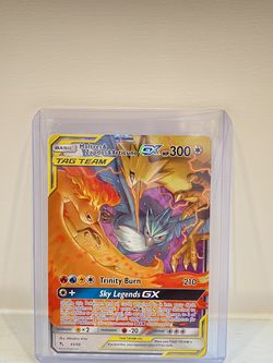 Moltres & Zapdos & Atricuno GX 44/68 Ultra Rare Holo Pokémon Card for Sale in Hollywood,  FL