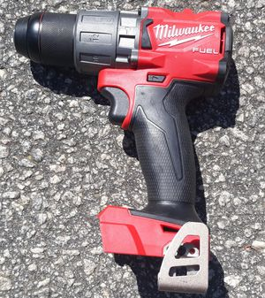 Milwaukee M18 fuel 1/2 inch hammer drill driver tool only for Sale in Greenville, SC
