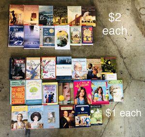 70 books different genre for Sale in Fullerton, CA