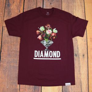 Diamond Supply Co. T-shirt / Large Size/ Red Color / Short Sleeve/ skateboardtee for Sale in Pasco, WA