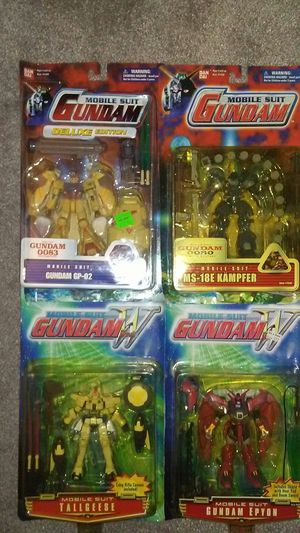 Action figures gundam mobile suits for Sale in Warwick, RI