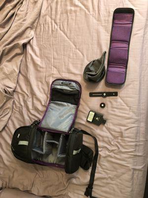 Camera bag bundle for Sale in Orlando, FL