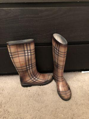 Burberry rain boots for Sale in Philadelphia, PA