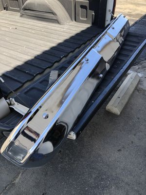 1973-1980 Chevy Squarebody C10 C20 Blazer GMC Truck Factory Chrome Front Bumper With Brackets for Sale in Fresno, CA