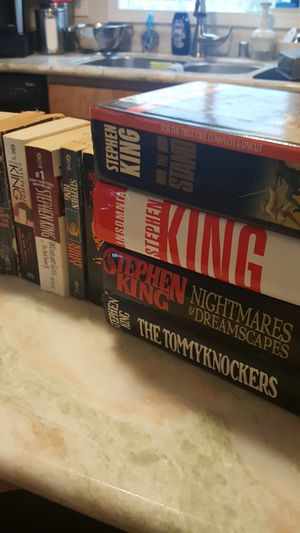 Stephen King Books for Sale in Tacoma, WA