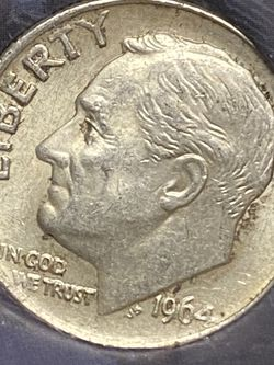 1964-P Roosevelt Dime DDO DDR ERRORS for Sale in Plainfield,  IL