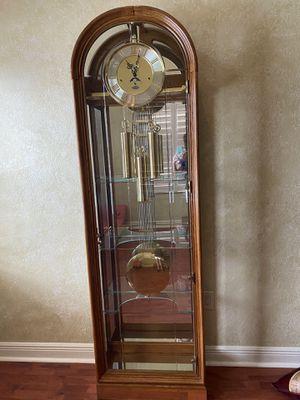 Ridgeway curio grandfather clock for Sale in Fort Lauderdale, FL