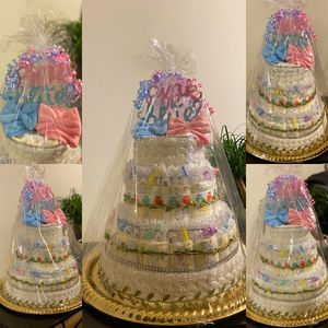 Decorative Diaper Cakes for Sale in Alafaya, FL