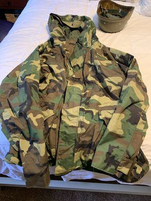 Army BDU gortex parka jacket for Sale in Fort Knox, KY