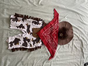 Cowboy /Sheriff costume for toddler /infant 18-24 months for Sale in Santa Clara, CA