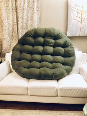 """⭐️New Blazing needle 52"""" Sage Papasan CUSHION. Or can be used as Doggie Beds.⭐️PICK UP BY ASHLAN AND TEMPERANCE IN CLOVIS for Sale in Clovis, CA"""