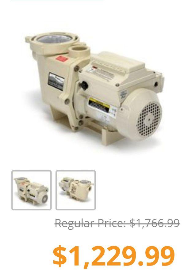 Pentair variable speed pool motor