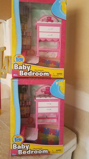 New baby bedroom toy set for Sale in Riverside, CA
