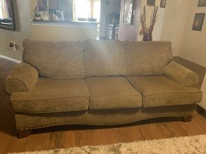 Olive Green sofa for Sale in Houston, TX
