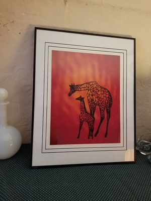 Giraffe Framed Picture - Gorgeous! for Sale in St. Louis, MO