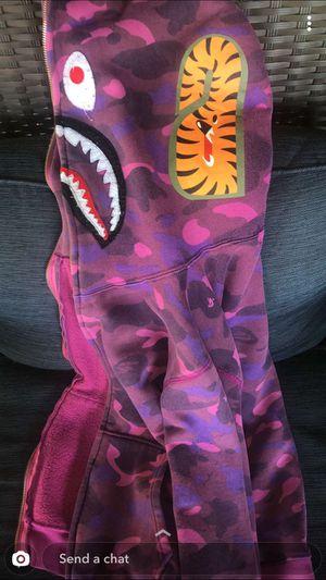 Bathing Ape bape shark jaw Camo for Sale in South Houston, TX