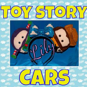 Toy Story Cars themed for Sale in Hemet, CA