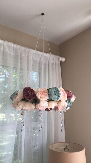 Custom Made Floral Chandelier See Description for Sale in Portsmouth, VA