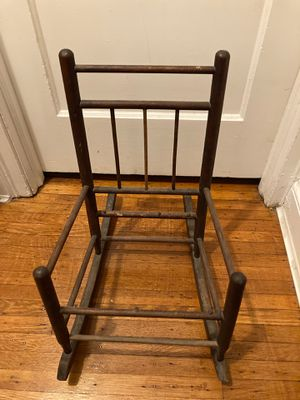 Antique child or doll rocker frame for Sale in Philadelphia, PA