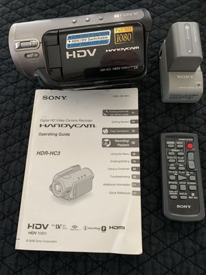 Sony HandyCam HDR-HC3. $300 for Sale in Apache Junction, AZ