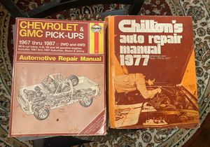 Free Service & Chilton's manuals for Sale in Overland, MO