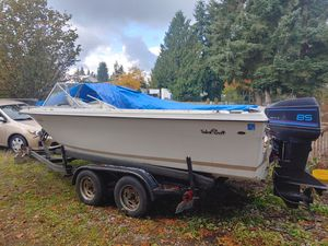Trailer, boat & parts motor for Sale in Bonney Lake, WA
