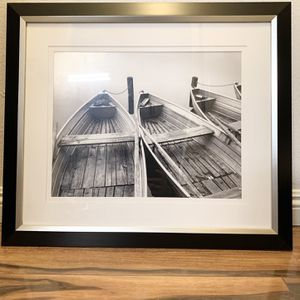 Black and White Boat Photography Art for Sale in Newport Beach, CA