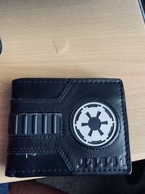 A black leather Star Wars wallet for Sale in West Linn, OR