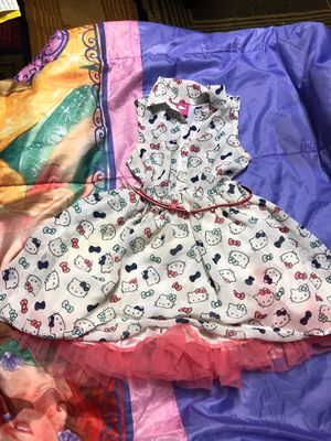 Hello kitty size 5 dress for girls for Sale in Dublin, OH