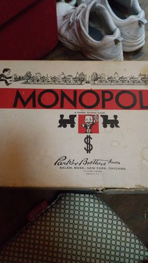 Old monopoly game for Sale in Saint Paul, MN