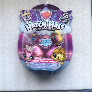 Hatchimals COLLEGGTIBLES Royal Snow Ball 4 Pack Season 6 Ages 5+ NEW for Sale in Hesperia, CA