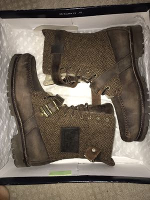 Polo Radbourne Ranger Brown Tweed Fur Boots Mens Size 10D for Sale in Dublin, OH