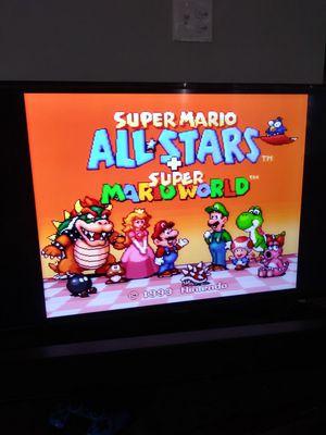Original Super Nintendo w/ 2 Games for Sale in Tucson, AZ