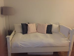 Pottery barn twin bed frame (disassembled) for Sale in New York, NY