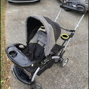 Sit And Stand Double Stroller for Sale in Cartersville, GA