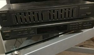 Technics EQ and Tuner set for Sale in Industry, CA