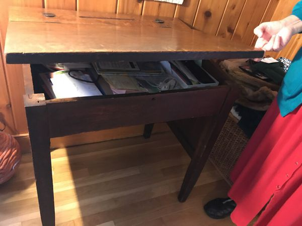 Antique Teacher's Desk