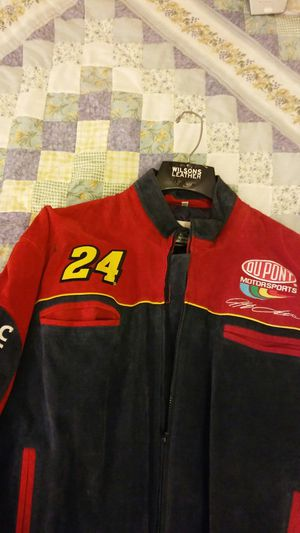 Jeff Gordon Suede Jacket. Never wore. for Sale in Los Angeles, CA