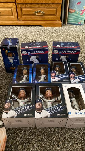 Dodger Bobble Heads & Two Action Figures for Sale in Cerritos, CA