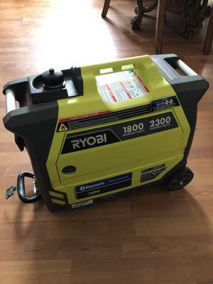 Ryobi Bluetooth 2,300-Watt Super Quiet Gasoline Powered Digital Inverter Generator for Sale in Aspen Hill, MD